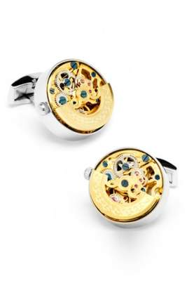 Co Ox and Bull Trading Watch Movement Cuff Links