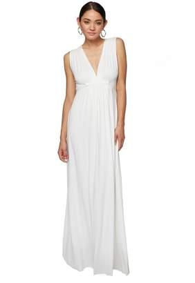 Rachel Pally LONG SLEEVELESS CAFTAN DRESS - WHITE