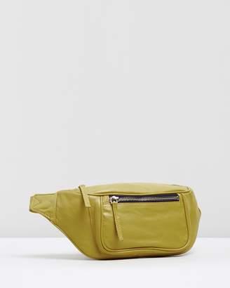 Topshop Madison Leather Bumbag