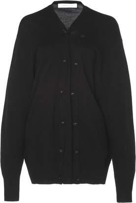 CHRISTOPHER ESBER Wool-Blend Double Buttoned V-Neck Cardigan