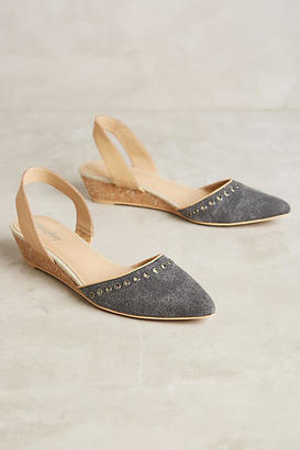 Anthropologie Farylrobin Kori Wedges $128 thestylecure.com