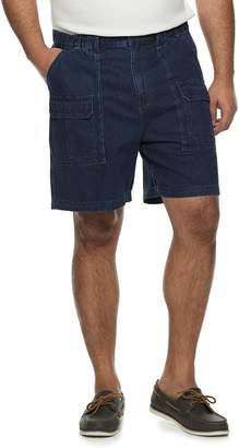 Croft & Barrow Men's Side-Elastic Denim Cargo Shorts