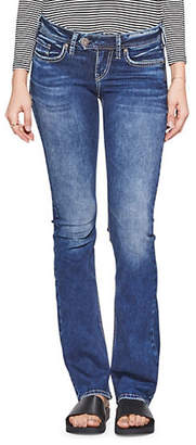 Silver Jeans Tuesday Low-Rise Bootcut Jeans