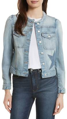 Rebecca Taylor Star Patch Denim Jacket