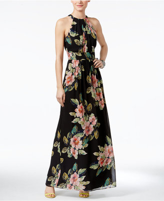 INC International Concepts Floral-Print Maxi Dress, Only at Macy's $159.50 thestylecure.com