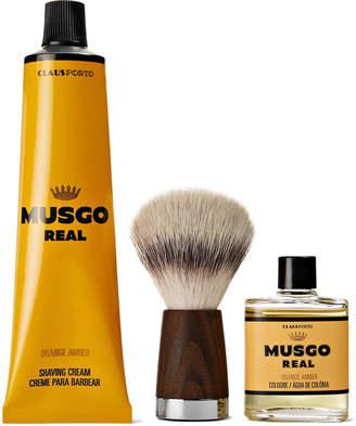 Claus Porto Musgo Real Orange Amber Gift Set