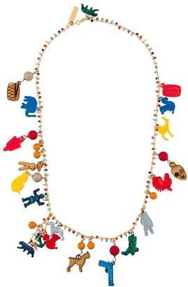 Marni charm necklace