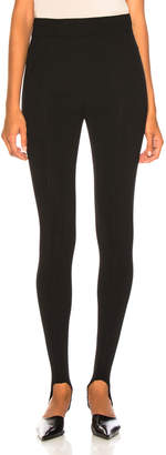 Victoria Beckham Stirrup Leggings in Black | FWRD