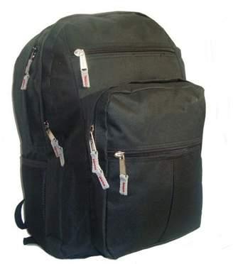 DAY Birger et Mikkelsen K-Cliffs Backpack 18 inch School Book Bag Multi Pockets College Student Pack Black