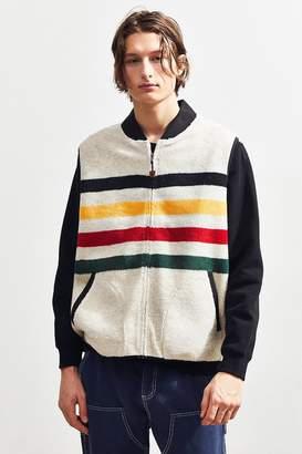 Pendleton Glacier Stripe Sherpa Vest