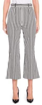 Dolce & Gabbana Striped Crop Flare Pants