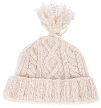 Burberry Knit Wool Blend Beanie