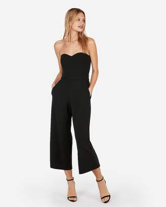 Express Sweetheart Culotte Jumpsuit