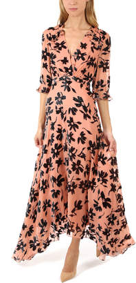 Saloni Edith Floral Maxi Dress