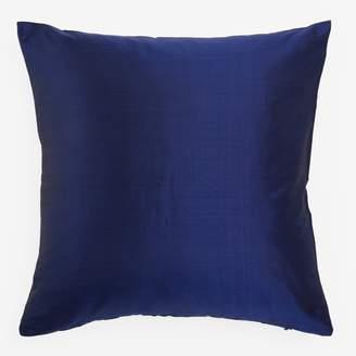 Varanasi Silk Dupioni Pillow Navy