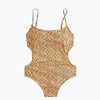 J.Crew Tie-back one-piece swimsuit in Liberty® floral