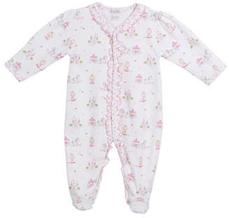 Kissy Kissy Queen of the Castle Printed Footie Playsuit, Size Newborn-9M