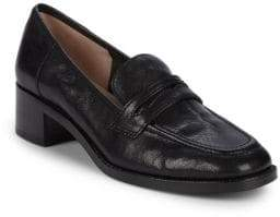Nine West Kimmy Penny Leather Loafers