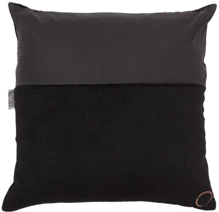 Wool & Leather Pillow