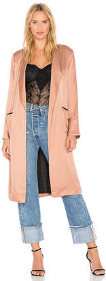 Line & Dot Aida Coat in Blush $138 thestylecure.com