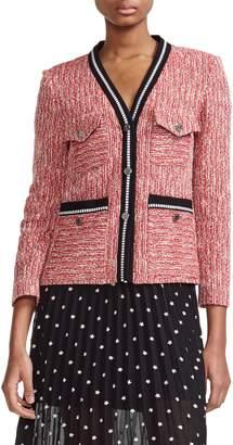 Maje Vivor Tweed Jacket