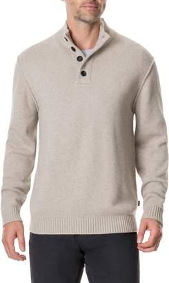 Rodd & Gunn Kent Terrace Quarter Button Sweater