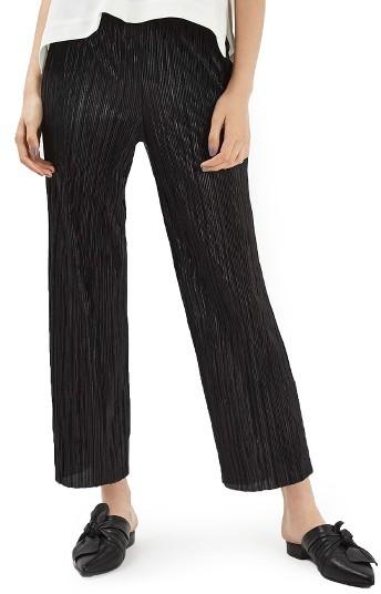 TopshopPetite Women's Topshop Plisse Trousers