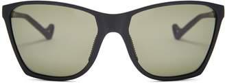 DISTRICT VISION Keiichi square-frame performance sunglasses