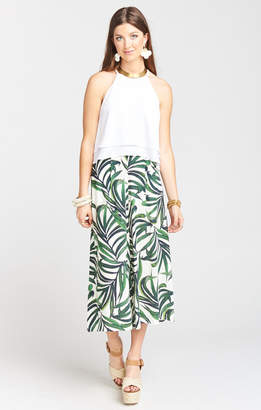 Show Me Your Mumu Gracias Gaucho Pant ~ Peruvian Palm Breeze