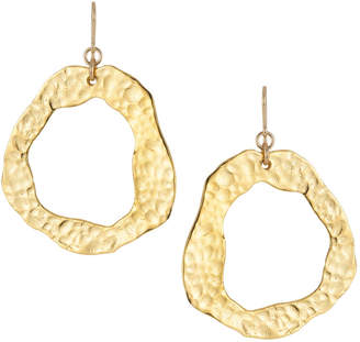 Devon Leigh Hammered Dangle Earrings