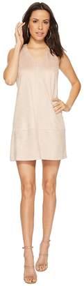 Bishop + Young Faux Suede Shift Dress Women's Dress