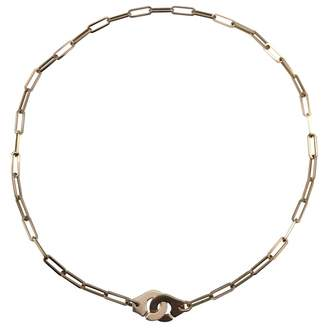 Dinh Van Menottes Other Yellow gold Long Necklace