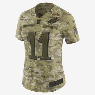 Nike NFL Philadelphia Eagles Limited Jersey (Carson Wentz) Women's Football Jersey