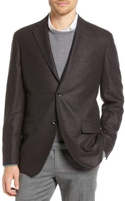 Nordstrom Signature Trim Fit Solid Wool Blazer