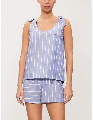 a81f46b44 Tommy Hilfiger Striped woven pyjama vest top