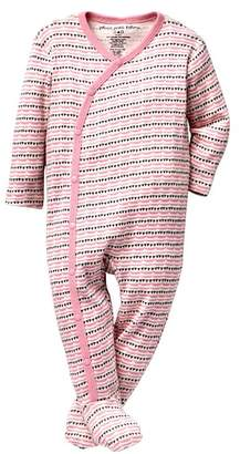 Petunia Pickle Bottom Footed Union Cotton PJ (Baby Girls)