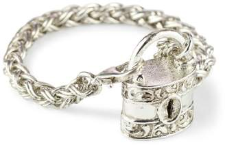 Couture Antiquities Tone Burgess Chest Lock Bracelet