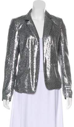 MICHAEL Michael Kors Sequin Embellished Notch-Lapel Blazer