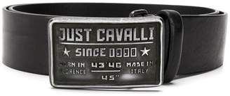 Just Cavalli logo buckle belt