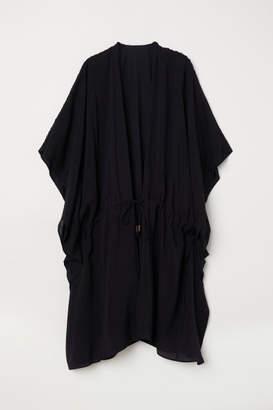 H&M Viscose Poncho - Black