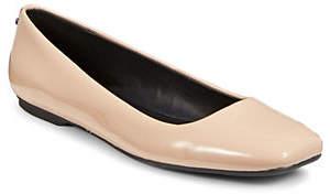 Calvin Klein Enith Square Toe Ballet Flats