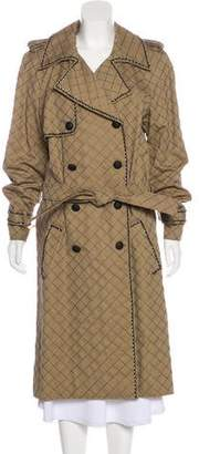 Chanel Quilted Trench Coat