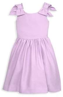 Janie and Jack Baby Girl's & Little Girl's Bow Sleeve Dress
