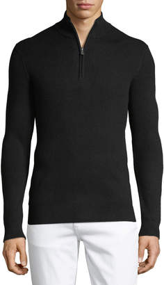 Michael Kors Men's Ribbed Mock-Neck Sweater