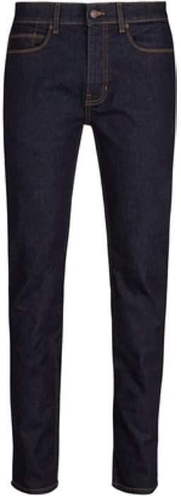 Womens **Burton Blue Blake Slim Fit Raw Jeans