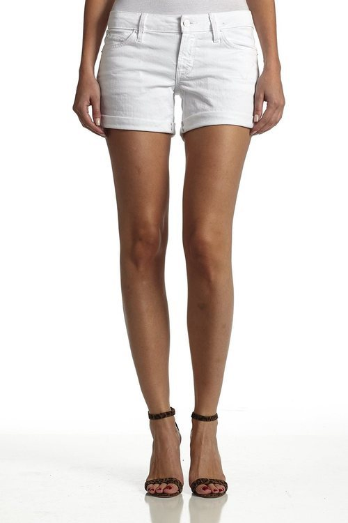 Hudson Jeans - W653DLW Croxley Mid Thigh Short in White 2
