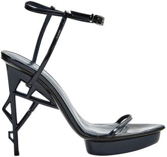 Jil Sander Patent leather sandals