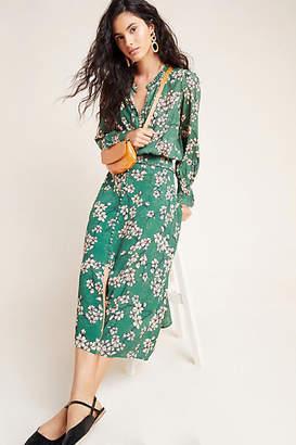 Kachel Nora Button-Front Midi Skirt