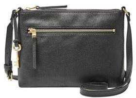 Fossil Fiona Pebbled Leather Crossbody Bag