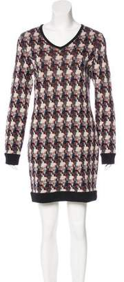 Rag & Bone Wool Knit Knee-Length Dress
